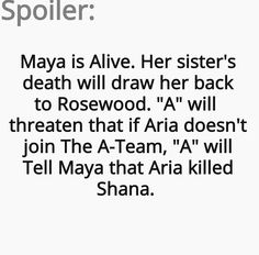 Yay!!! And Shana and maya were sisters?!?