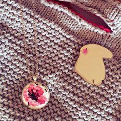 Zeinepuu: İş çantası ♥ gelincik kolye ♥