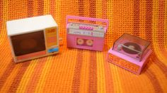 Vintage 1980s Barbie Wind-Up Accessories