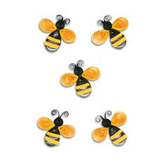 quilling bee | labels bees quilling 1 sheet ref no 6836 motif bees features quilling ...