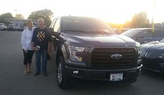 William's new 2017 FORD F-150! Congratulations and best wishes from Kunes Country Ford Lincoln of Delavan and DEANNA KLOSTERMAN.
