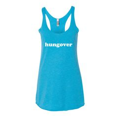 Hungover Women's tank top
