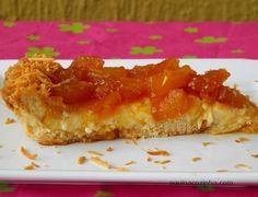 Torta de Abacaxi Com Coco | Blog Aqui na Cozinha |