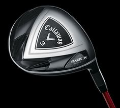 """Callaway's awesome slogan: """"Mean looks. Crazy Distance."""" Rocket what???"""
