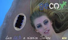 Luce Led a ricarica Solare www.gecoluce.it