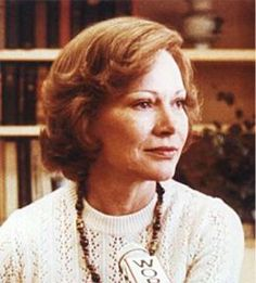 "Rosalynn Carter 1927-  ~ ""I don't think that there is any doubt that the First Ladies have some influence on their husbands, because they are close to them, they talk with them all the time, they have the presidents' ear. I don't think there is any doubt about it."" ~~Jimmy Carter's wife was the first to have a VCR in the White House, and to keep her own office in the East Wing."