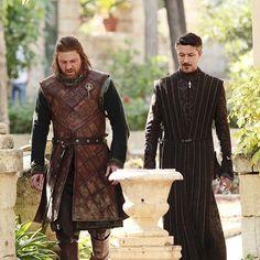 GoT - S1 - Lord Stark and Lord Baelish