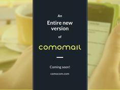 The update you were waiting for is almost here! Use quick reply and message management for several eBay accounts, send pictures and get notifications about new emails. You will be impressed by the new #comomail Android messenger for #eBay. Subscribe to our newsletter and we will notify you about the release! http://comocom.com/