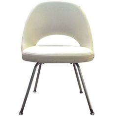 Eero Saarinen Executive Chairs for Knoll, 1960's, (30 Available)   From a unique collection of antique and modern dining room chairs at http://www.1stdibs.com/furniture/seating/dining-room-chairs/