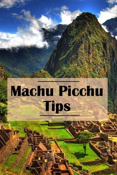 Machu Picchu Tips One of the things on my bucket list is to travel all of seven wonders! So far, I've seen the Colosseum of Rome and Machu Picchu, in Peru! I will soon write about my trip to Peru in an article… Travel, blog, traveler, backpacker, backpacking, travel tips, world traveler, travel blogger, travel blog, Peru, Machu Picchu, Itinerary, how to get to Machu Picchu, inca rail