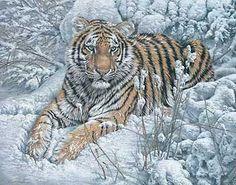 """""""Snow Queen - Siberian Tiger"""" by Lee Kromschroeder"""
