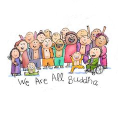 Today's Buddha Doodle: in each of us!