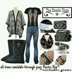 Country outfits  http://www.therusticshop.com/?store=therusticmontanaboutique