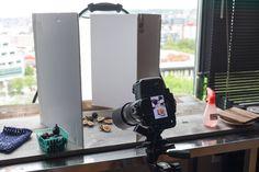 using foamboard at food photography- gebruik foam board voor food fotografie