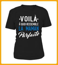 VOILA A QUOI RESSEMBLA MAMAN - Shirts für paare (*Partner-Link)
