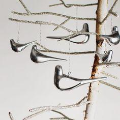 Small Dove Ornament. Love these.