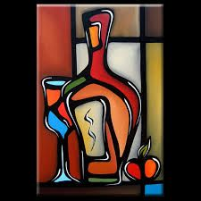 Image result for abstract art wine