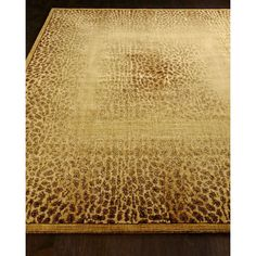 Leopard Shadow Runner (¥40,990) ❤ liked on Polyvore featuring home, rugs, beige, leopard rug, flat woven rugs, off white rug, hand knotted area rugs and cream area rug