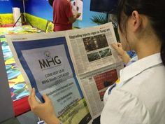 MHG's ad for CIFIT was run in the September 8th, 2014 edition of the China Daily Newspaper