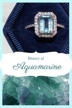 Learn all about this mermaid treasure in my new blog post! Aquamarine Crystal, Real Mermaids, Custom Jewelry Design, Raw Gemstones, Happy Marriage, Designer Engagement Rings, Diamond Rings, Jewels, Simple