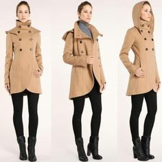 soia & kyo - love this coat