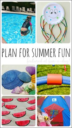 Over 25 ideas for planning summer fun with the family (Share It Saturday features):