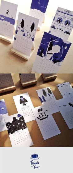 Diy simple easels 5 Tips Wajib Ketika Mendesain Kalender 2016 - Desk Calender, Diy Calendar, Wooden Calendar, Book Design, Layout Design, Cover Design, Design Design, Design Ideas, Kalender Design