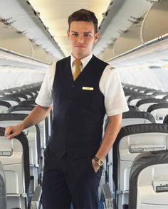 From @nykls -  Good morning in the morning  hope you all have a beautiful day  #MYWORK  __________________________ #shorthaul #a320 #Colleagues #ilovemyjob #lufthansa #cabincrew #crewlove #goodtimes #instagram #crewme #crewfie #crewlife #aircrew #frankfurtairport #flightattendant #flightclub #cute #maninuniform #picoftheday #guy #me #boy #a380 #lufthansaflugbegleiter #igers #uniform #jumpseatcrew #crewiser