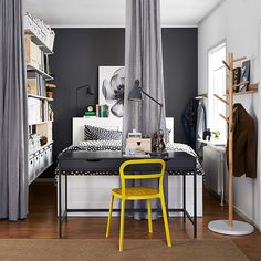 Creating privacy in studio bedrooms.Featured Products REIDAR ALEX IKEA PS 2014…