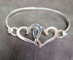 Sterling silver Hearts