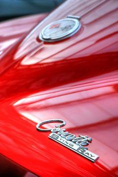 Chevy-1962, Corvette Sting Ray.