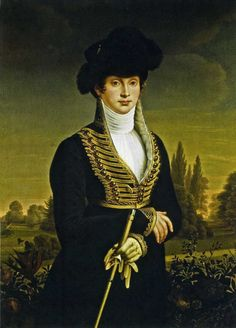 Before the Automobile: 1809 riding habit, inspired by this portrait of Queen Louise of Prussia