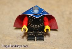Duct Tape Capes for Lego Minifigures