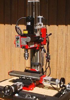 Small Milling Machine, Lathe Machine, Machine Tools, Cnc Lathe, Cnc Router, Metal Working Machines, Hobby Cnc, Duplex House Design, Maker Shop