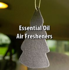 What a simple but wonderful idea this is, create your own air freshener and make it smell however you please! Maybe then this will stop my car from smelling like old man. Essential Oil Perfume, Essential Oil Uses, Doterra Essential Oils, Young Living Essential Oils, Homeopathic Remedies, Home Remedies, Aromatherapy Recipes, Car Freshener, Eucalyptus Oil