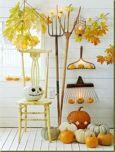 Love the skeleton pumpkin 90 Fall Porch Decorating Ideas Pumpkin Decorating, Porch Decorating, Decorating Ideas, Decor Ideas, Diy Ideas, Food Ideas, Holidays Halloween, Halloween Crafts, Country Halloween