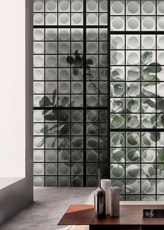 From photographs to wall paintings, from tromp-l'oeils to macro-designs on material backgrounds. All these artistic designs are cleverly turned into a vertical wall pattern, with truly original visual effects.