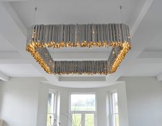 Square Facet Chandelier | Contemporary Lighting Project