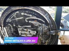 HORNO A LEÑA METALICO 2D2 - YouTube