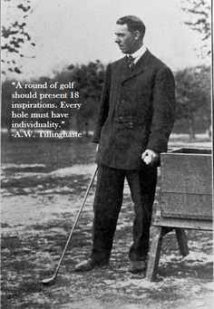 Golf School Here's a quote from a course designer and Hall of Fame inductee this year. Only the course architect to have that honor. I think we all appreciate a well crafted, creative course. Our Residential Golf Lessons are for beginners, Intermediate Teaching Credential, Golf Instructors, Golf Academy, Golf Magazine, Golf Tips For Beginners, Golf Quotes, Golf Lessons, School Programs, Golf Courses