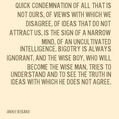 Annie Besant -