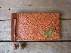 Brown Photo Diary Guest Book by WhatsNewOnTheMantel on Etsy https://www.etsy.com/listing/194079639/brown-photo-diary-guest-book