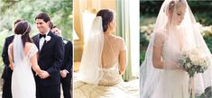 Comment porter mon voile de mariée ? {coiffure mariage}