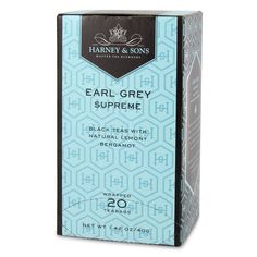 Harney and Sons Premium Tea - Earl Grey Supreme - 20 count