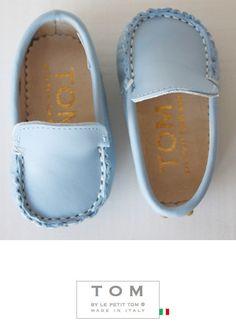 TOM by Le Petit Tom ® MOCCASIN  9tom light blue