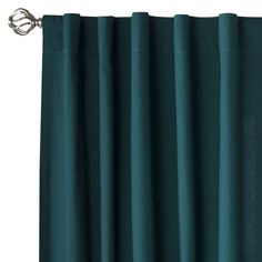 Teal Curtains Not Quite The Same Pattern But Good Representation Of Color