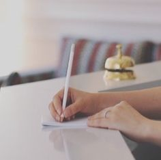 """Need recommendations for restaurants, bars, monuments, events... Or whatever pops into your head? just ask to our receptionists! they will write you names of places, directions, phone numbers and all they can think about for you! ✒ feel free to """"bother"""" because you don't bother at all #thefifteenkeyshotel #italy #feelshomey #fifteenkeys #rionemonti #rome #roma #reception #receptionist #TFKHTeam"""
