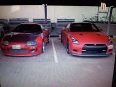 GTR35 + Toyota Supra