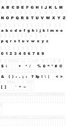 Orial font