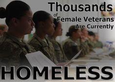 Homeless Women Veterans | ... 16 or more Homeless Female Veterans and Veterans with Families grants